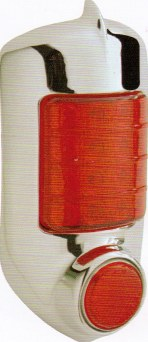 1951-1952 Chevy LED Tail Light Complete Assembly