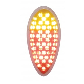 1938-1939 Tail Light with Red and Amber LED