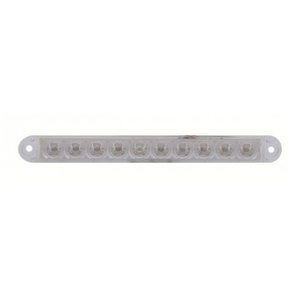 "10 LED 6-1/2"" S/T/T and P/T/C Light Bar - Flush Mount"