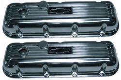 Polished Bowtie BBC Valve Covers
