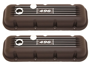 Black 496 BBC Valve Covers