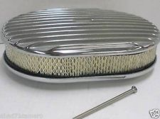 Finned Oval Air Cleaner