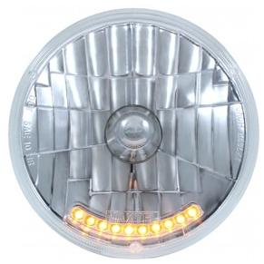 """10 LED 7"""" Crystal Headlight Bulb"""