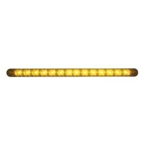 14 LED Auxiliary Strip Light w/Bezel