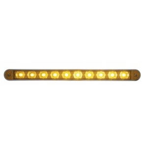 10 LED Auxiliary Strip Light with Bezel