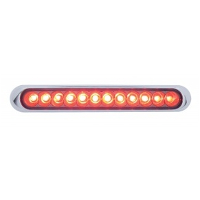 "12 LED Auxiliary Strip Light - 6-1/4"" Long"